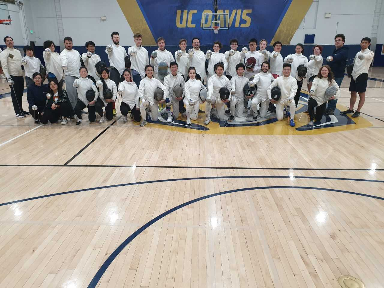 fencing team photo