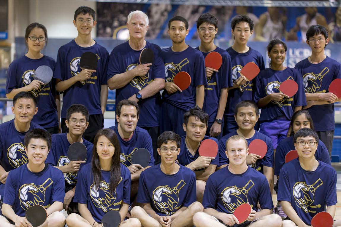 table tennis team photo
