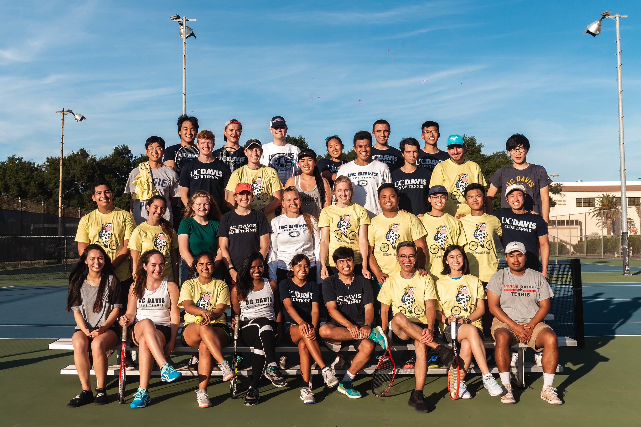 tennis team photo