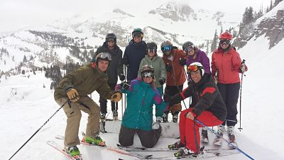 Alpine Ski Team Photo