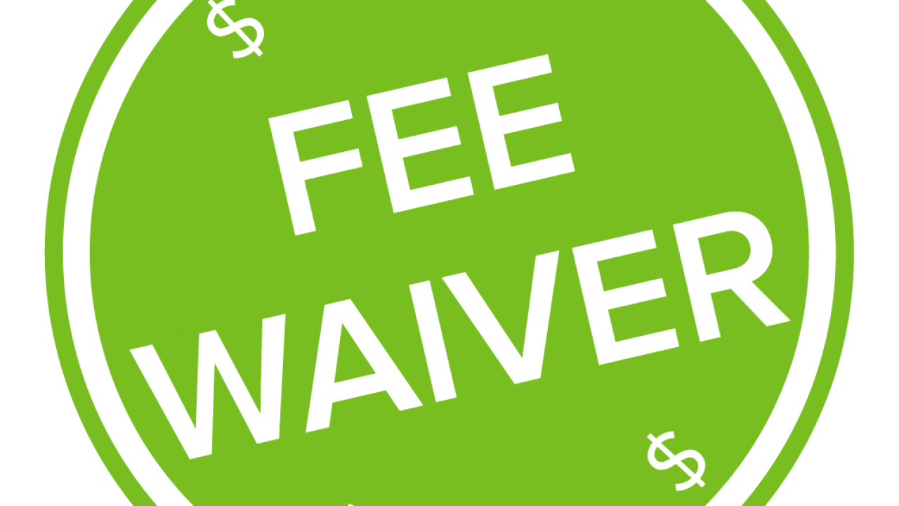 fee waiver logo